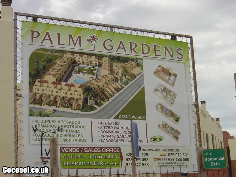 palm garden fuerteventura